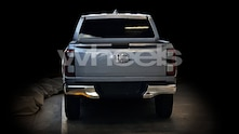 Possible next generation Ford Ranger rear