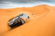 nissan global vehicles in morocco terra in sand