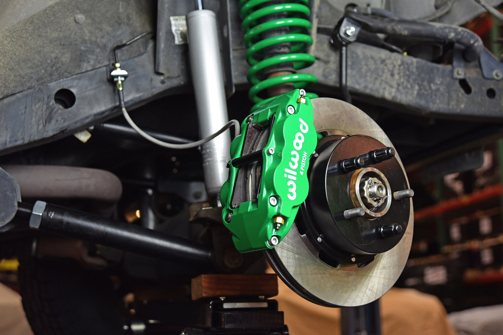 023 jeep tj wrangler wilwood engineering brakes front disc upgrade kit