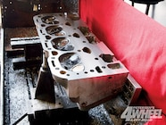 2  We took the aluminum Fast Burn GM Performance Parts heads