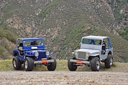 001 jeep willys 1951 cj 3a pair two father son build chevy v8 peifer