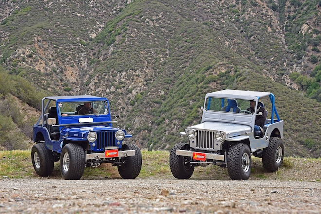 Family Ties: Two 1951 Willys CJ-3A Jeeps