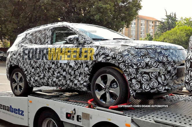 Spied! 2018 Jeep Compass Patriot Replacement!