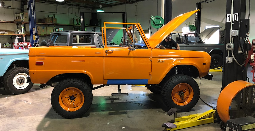 1966 ICON Bronco To Be Auctioned for Scholarship