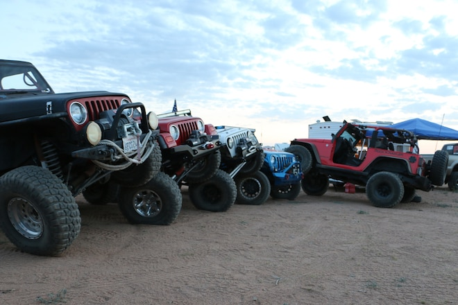 Jeep Fun At The Cal4Wheel Hi Desert Round-Up