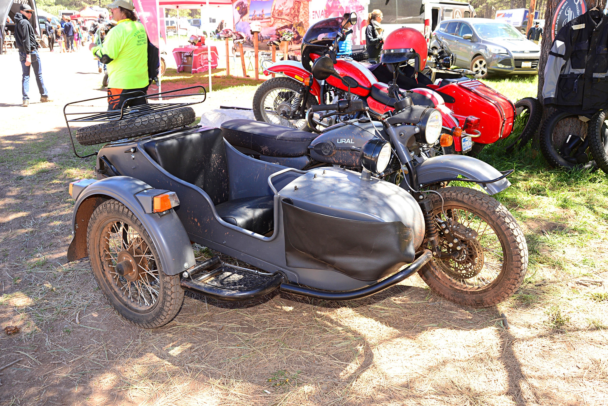 019 2016 Overland Expo 4x4 Vehicles Camping Flagstaff Mormon Lake Arizona Ural Sidecar Motorcycle Offroad Photo 178316846