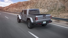 2020 Jeep Gladiator Rubicon rear side motion view