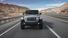 2020 Jeep Gladiator Rubicon front motion view