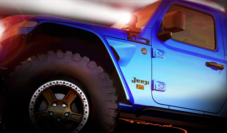 Jeep Teases Moab Concept Vehicles