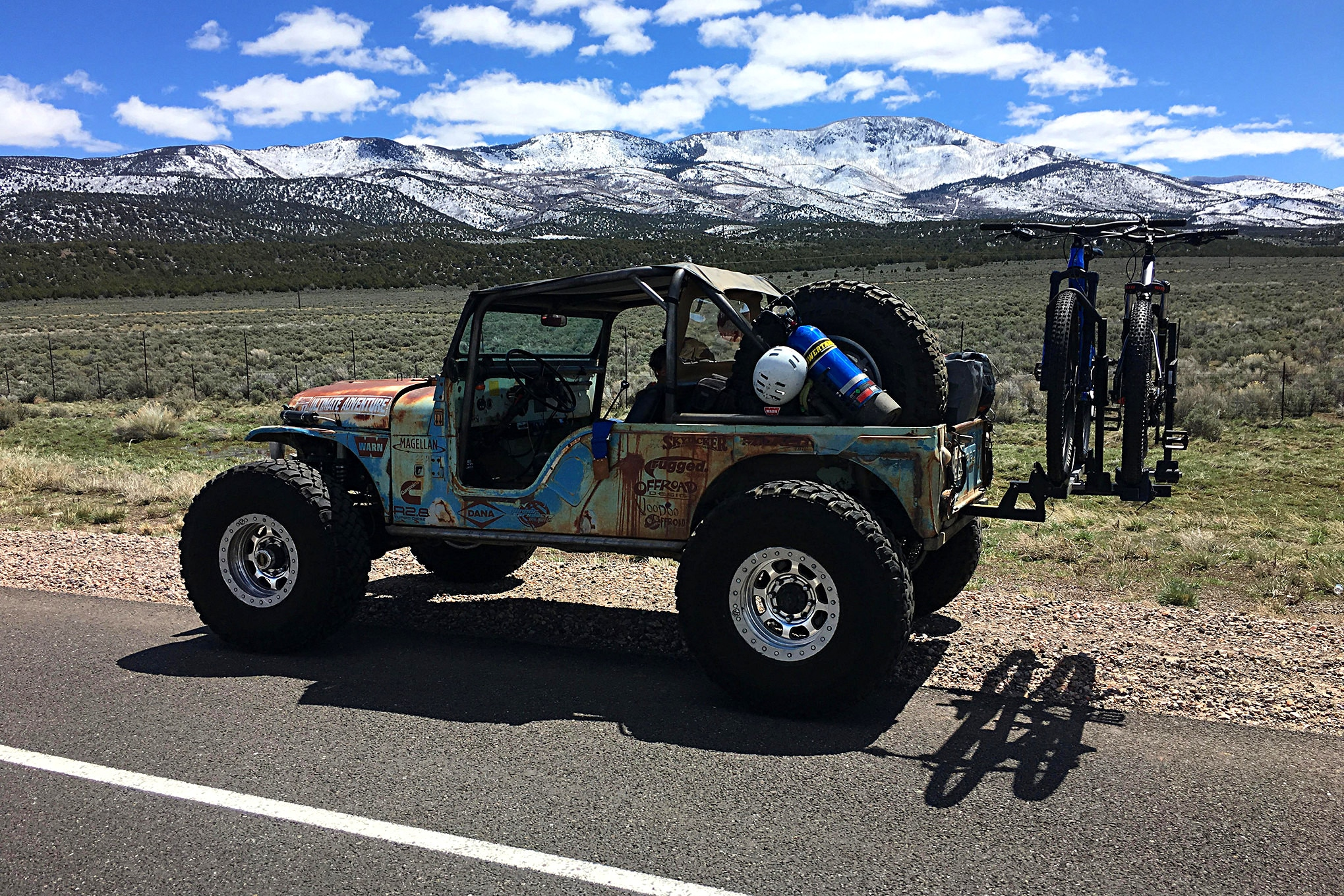 christian and caelin hazel drive the uacj6d 800 miles to moab ejs2019 lead