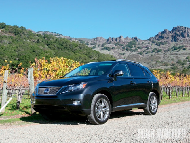 2010 Lexus Rx 450h Review First Drive