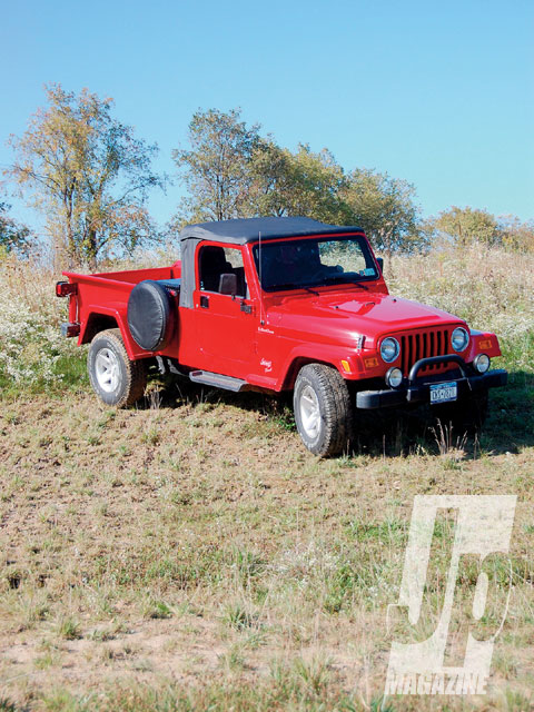 2006 Jeep Wrangler TJ Unlimited Truck - Retro Truck