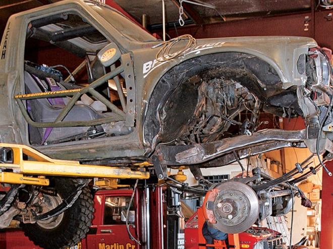 Toyota 3RZ 4 Cylinder Engine Swap - More Turtle Power