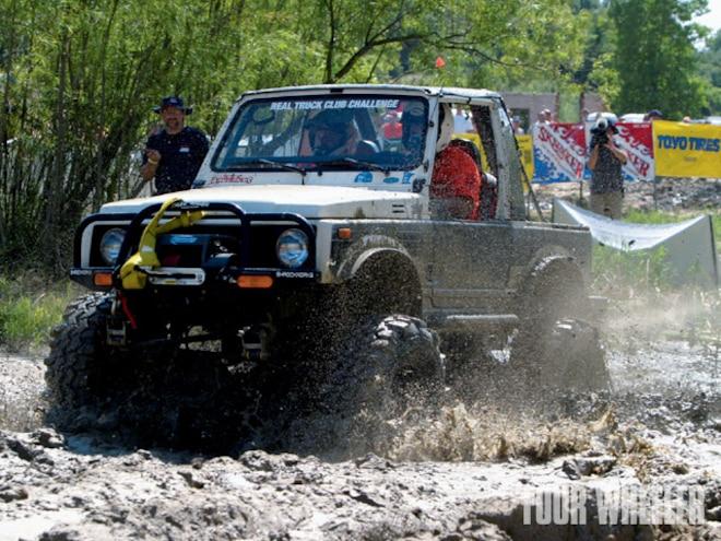 Driving Truck In Mud Tips - Back 2 Basics Mud Whompin'!
