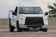2018 ford f 150 spied front quarter view 02