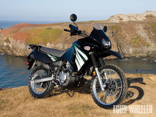 2009 Kawasaki KLR 650 Review - Bed Toys