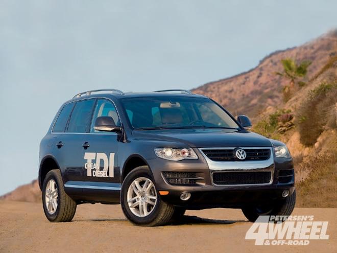 2009 Volkswagen Touareg V6 Tdi Go The Distance In Dirt