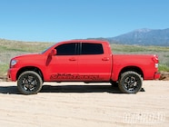 This truck is not radically modified