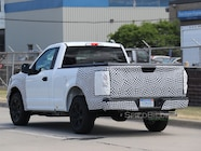 2018 ford f 150 single cab rear three quarter