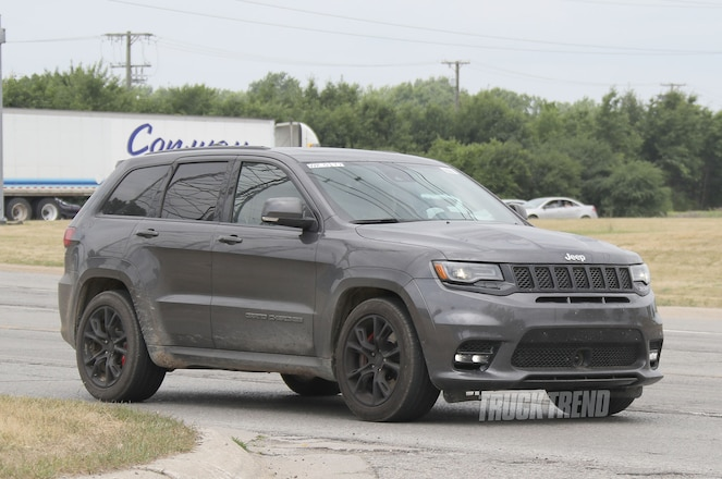 SPIED: Jeep Grand Cherokee Trackhawk Totally Undisguised