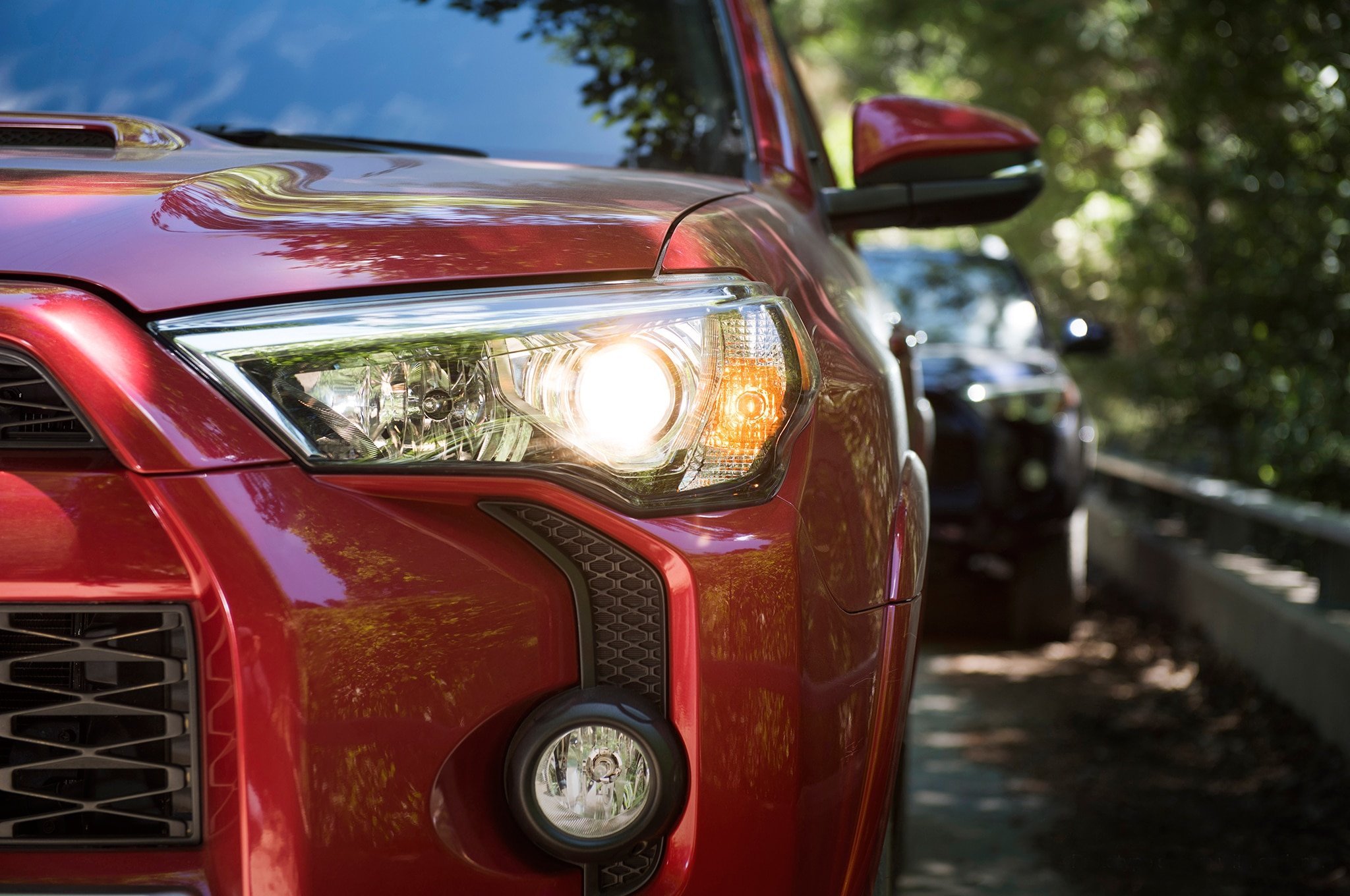 2017 Toyota 4Runner TRD Off Road Premium headlight