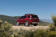 2017 Toyota 4Runner TRD Off Road Premium rear three quarter