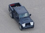 2019 Jeep Wrangler JL Pickup Spyshots 34