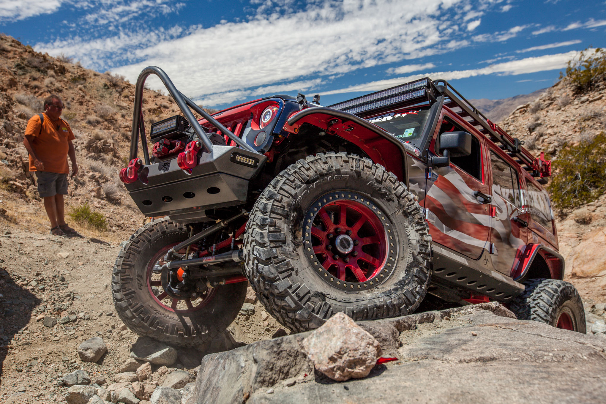 020 2016 Ultimate Adventure vehicles and people