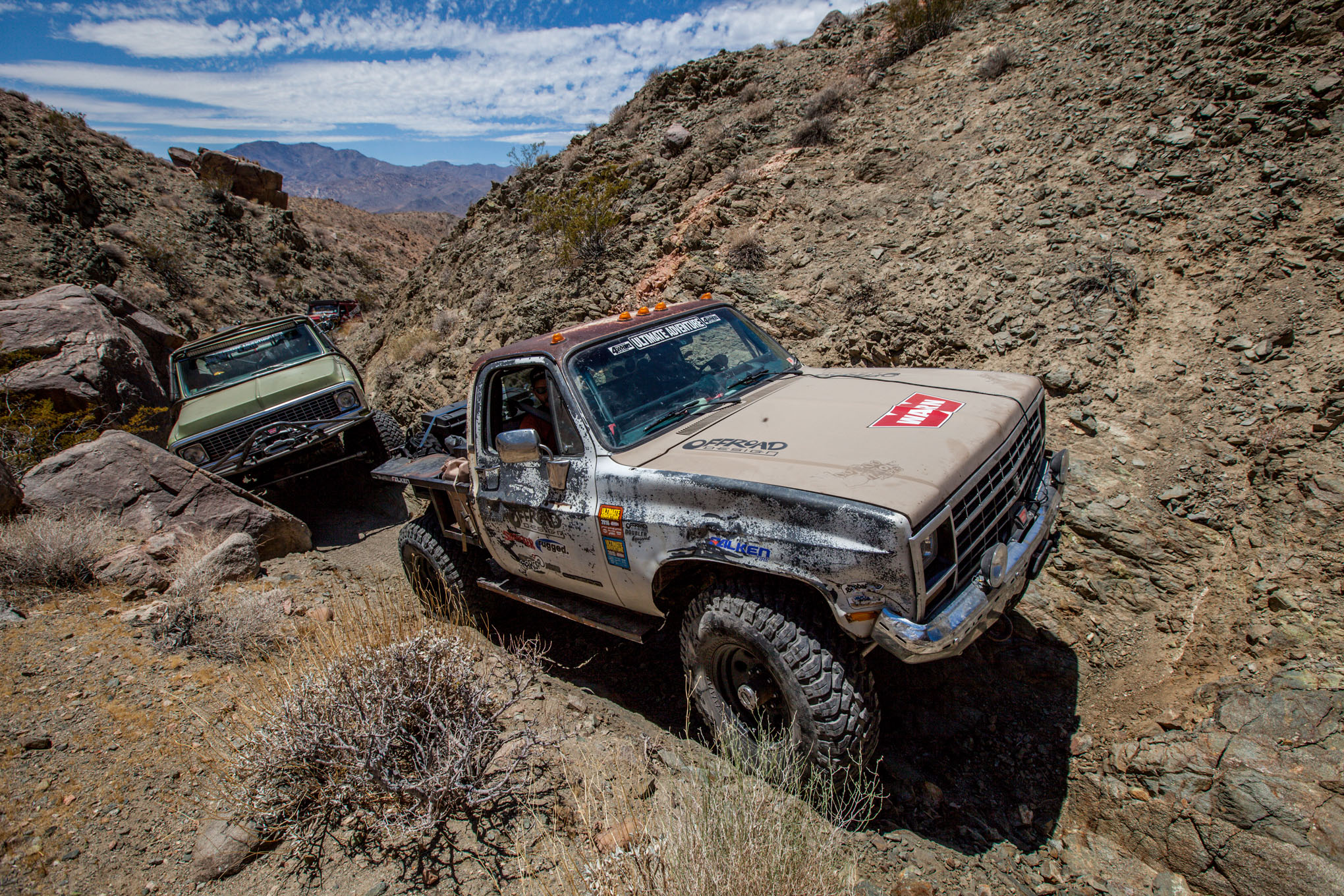 001 2016 Ultimate Adventure vehicles and people