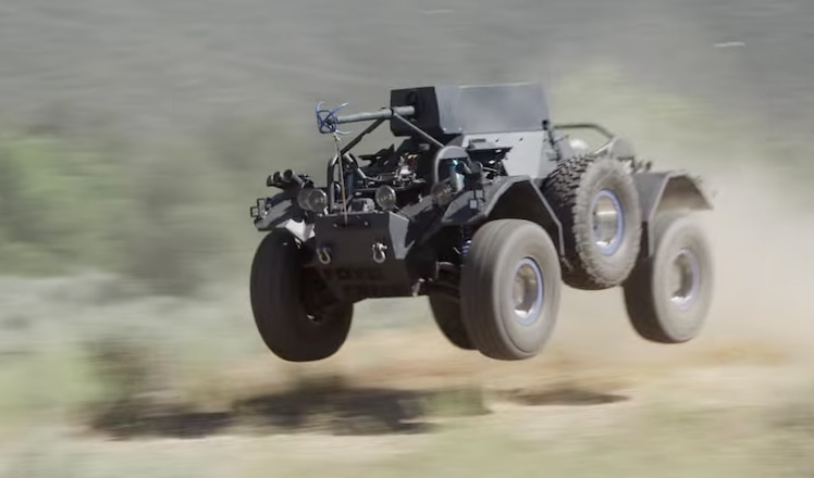 BJ Baldwin Takes an LS Powered Ferret Scout Vehicle For a Rip - Video
