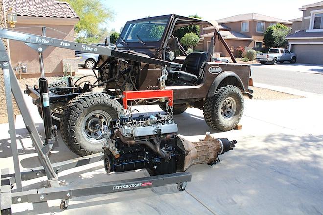 Swapping a 4.0L Into a CJ-7