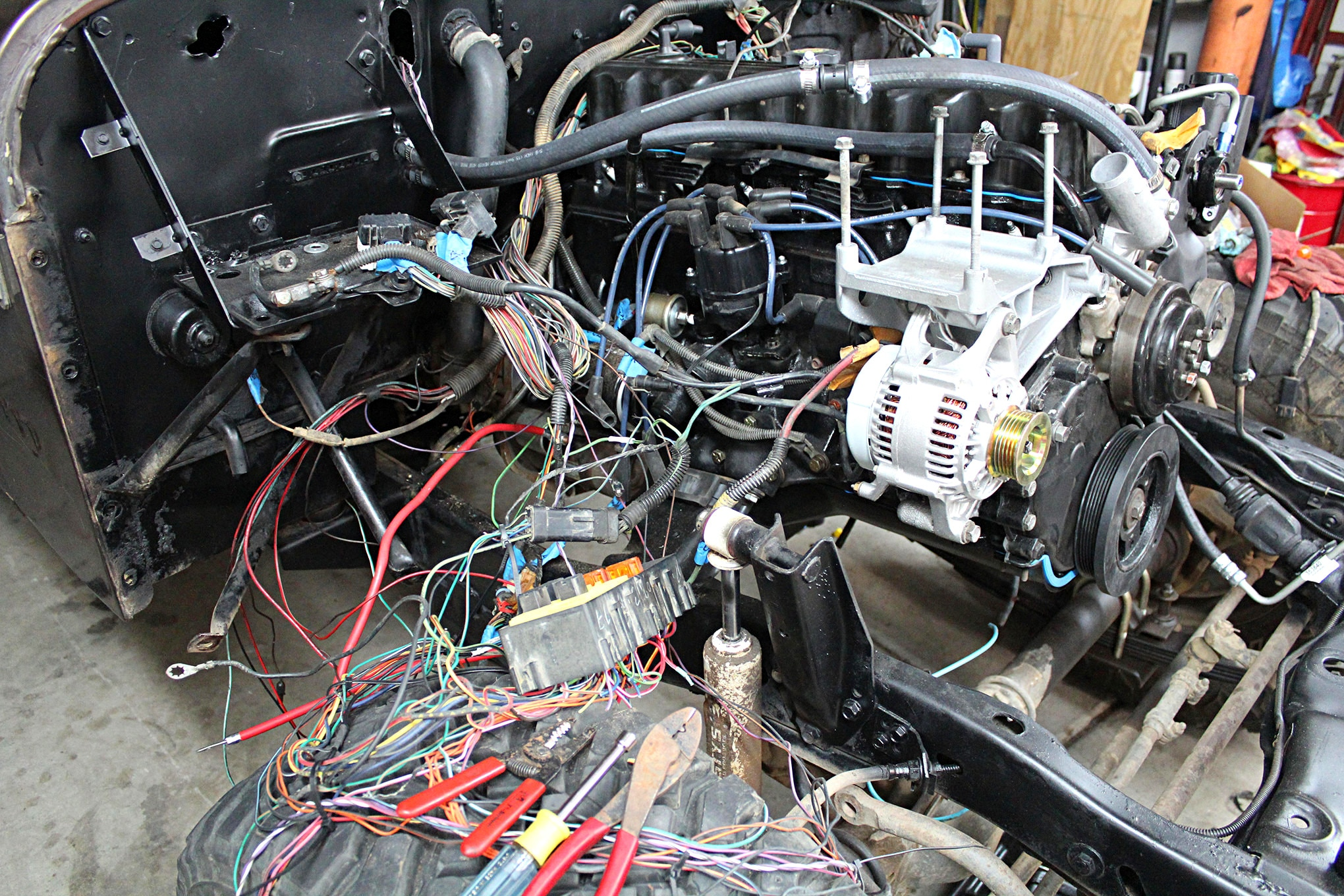 Cool Jeep Cj V8 Swap Wiring Wiring Diagram Read Wiring Cloud Hisonuggs Outletorg