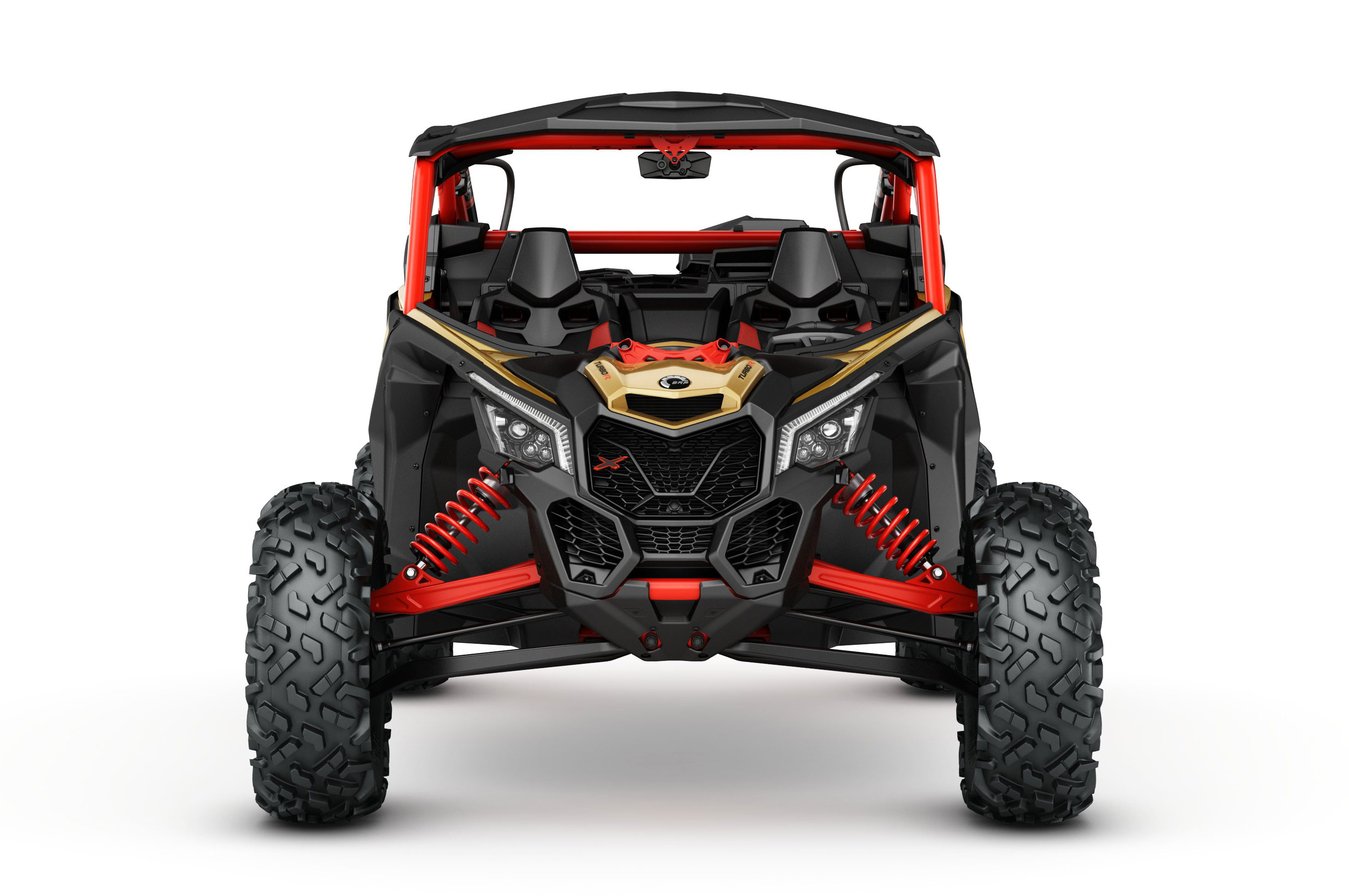 2017 can am maverick x3 turbo rs studio front