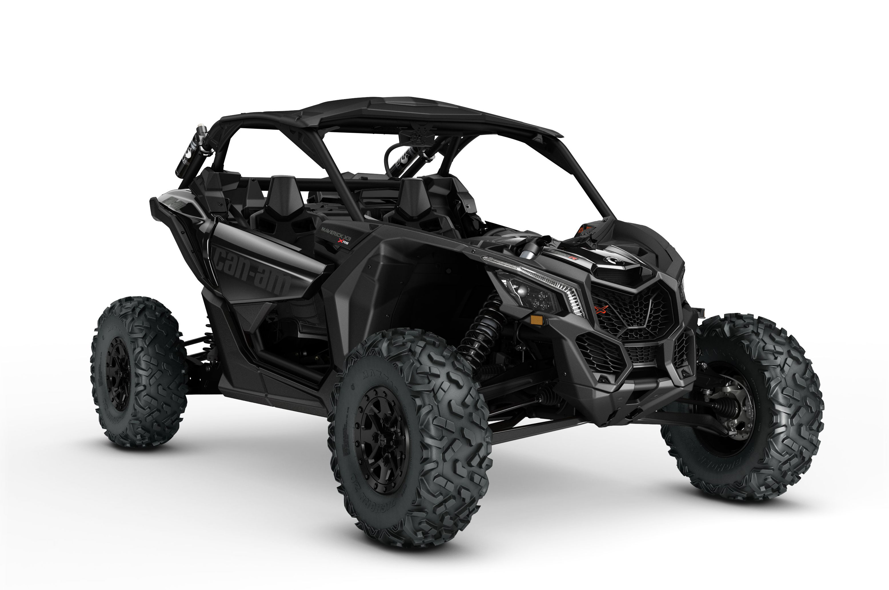 2017 can am maverick x3 turbo rs black right angle studio
