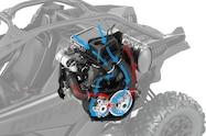 2017 can am maverick x3 turbo transmission airflow