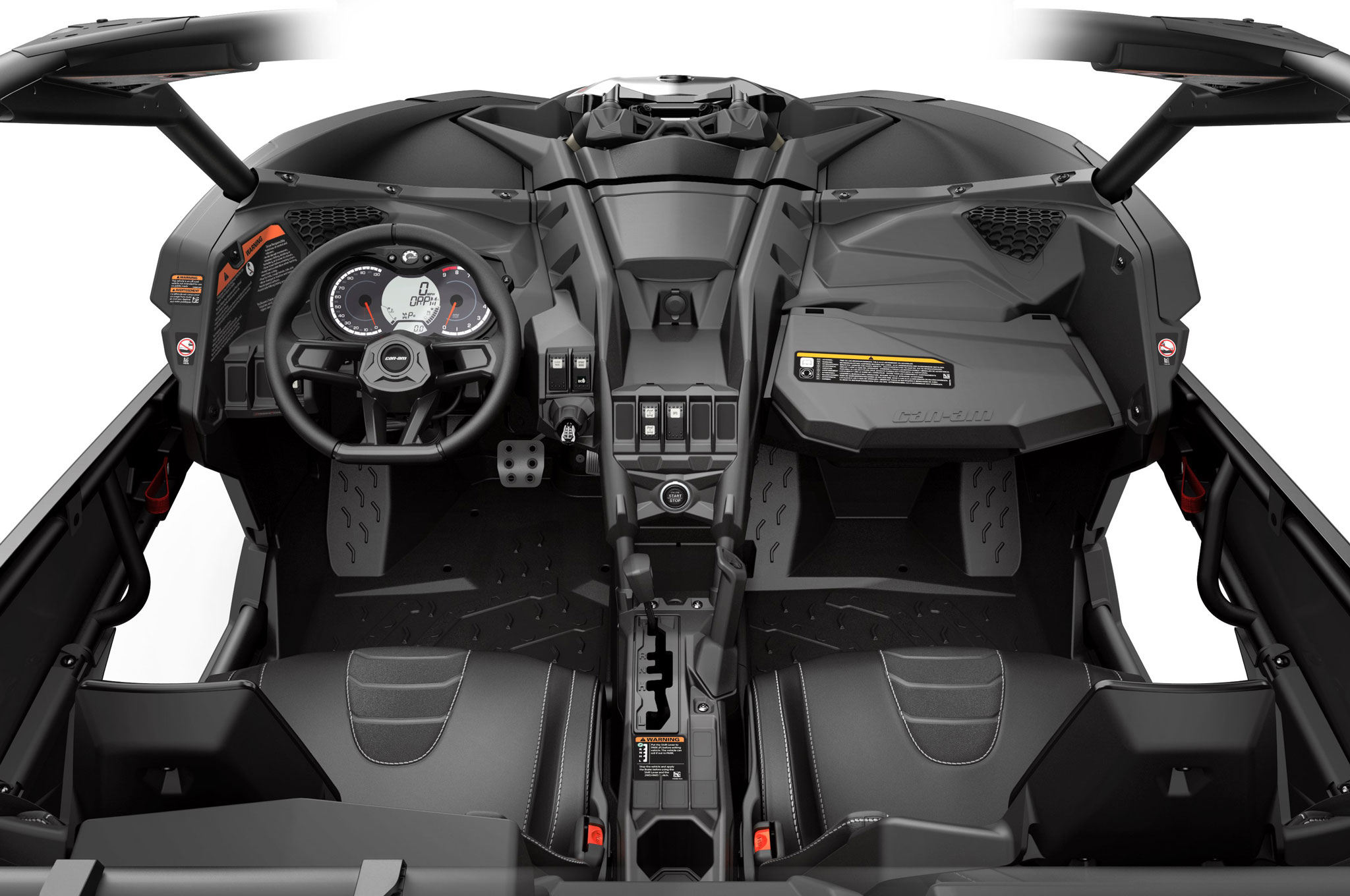 2017 can am maverick x3 turbo cockpit