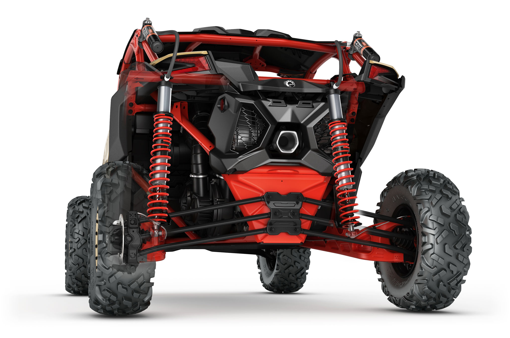 2017 can am maverick x3 turbo rear suspension
