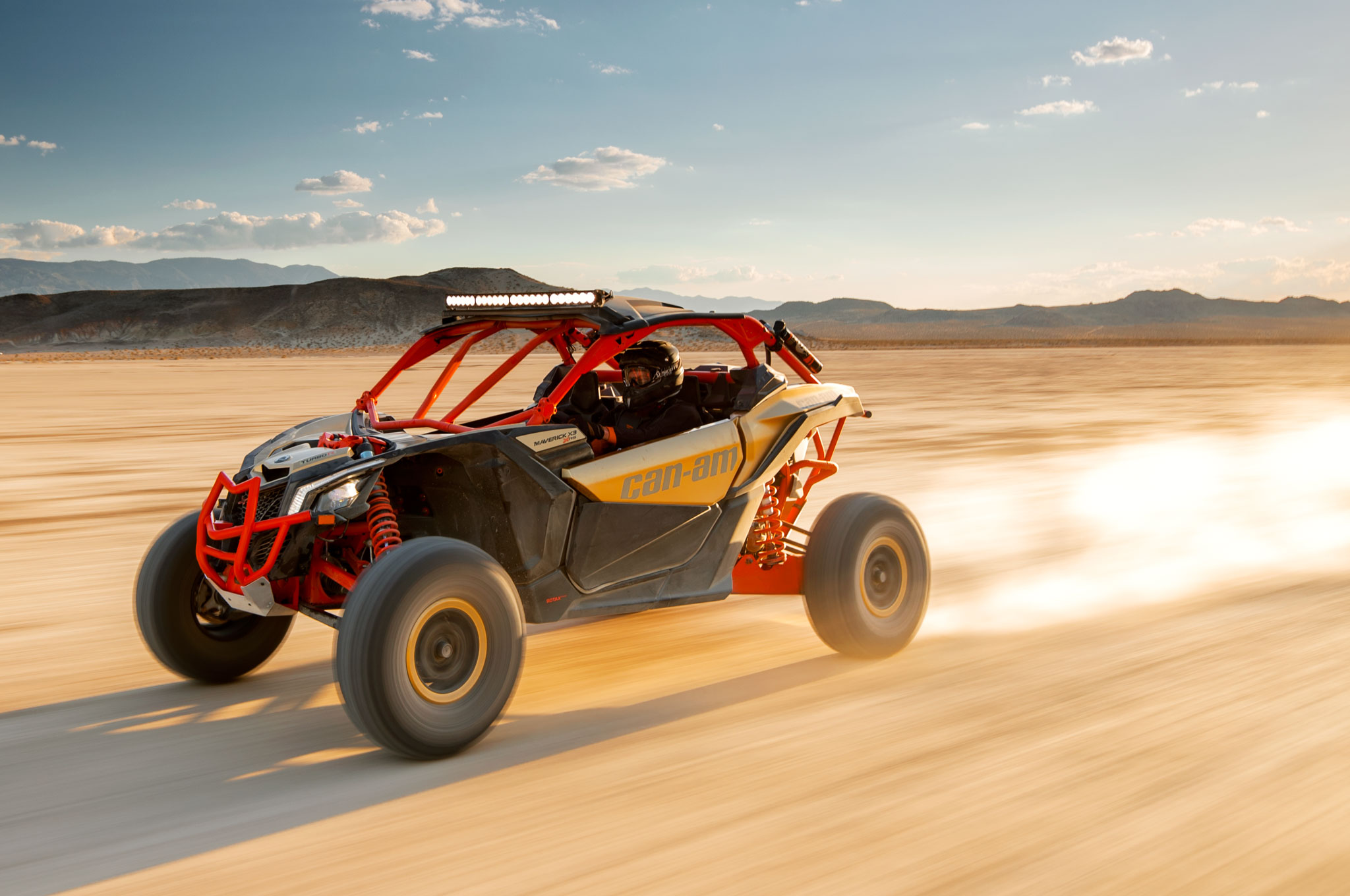 2017 can am maverick x3 turbo rs left side high speed