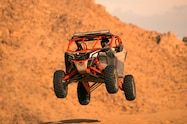 2017 can am maverick x3 turbo rs left front catching air