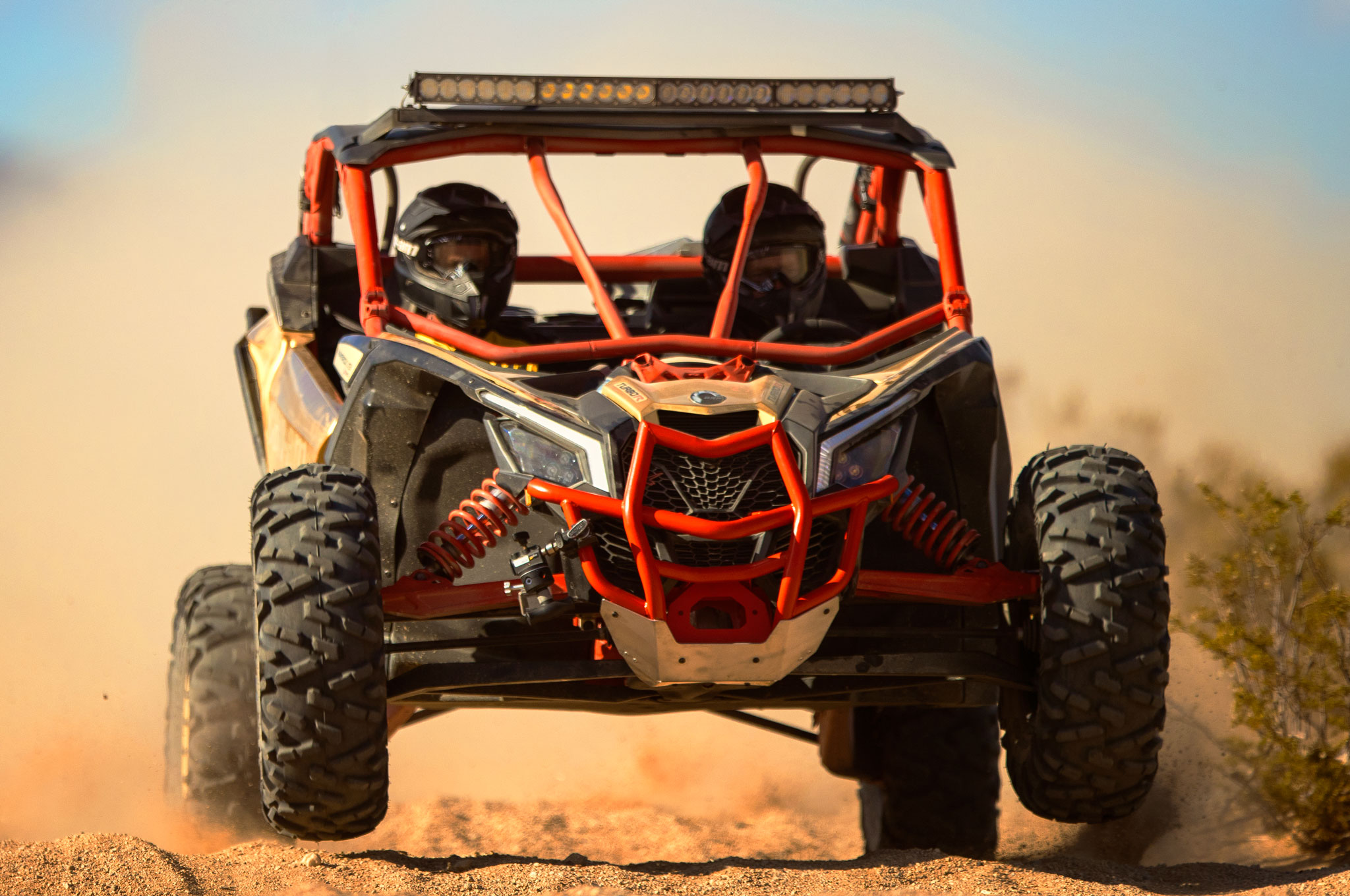 2017 can am maverick x3 turbo rs front action
