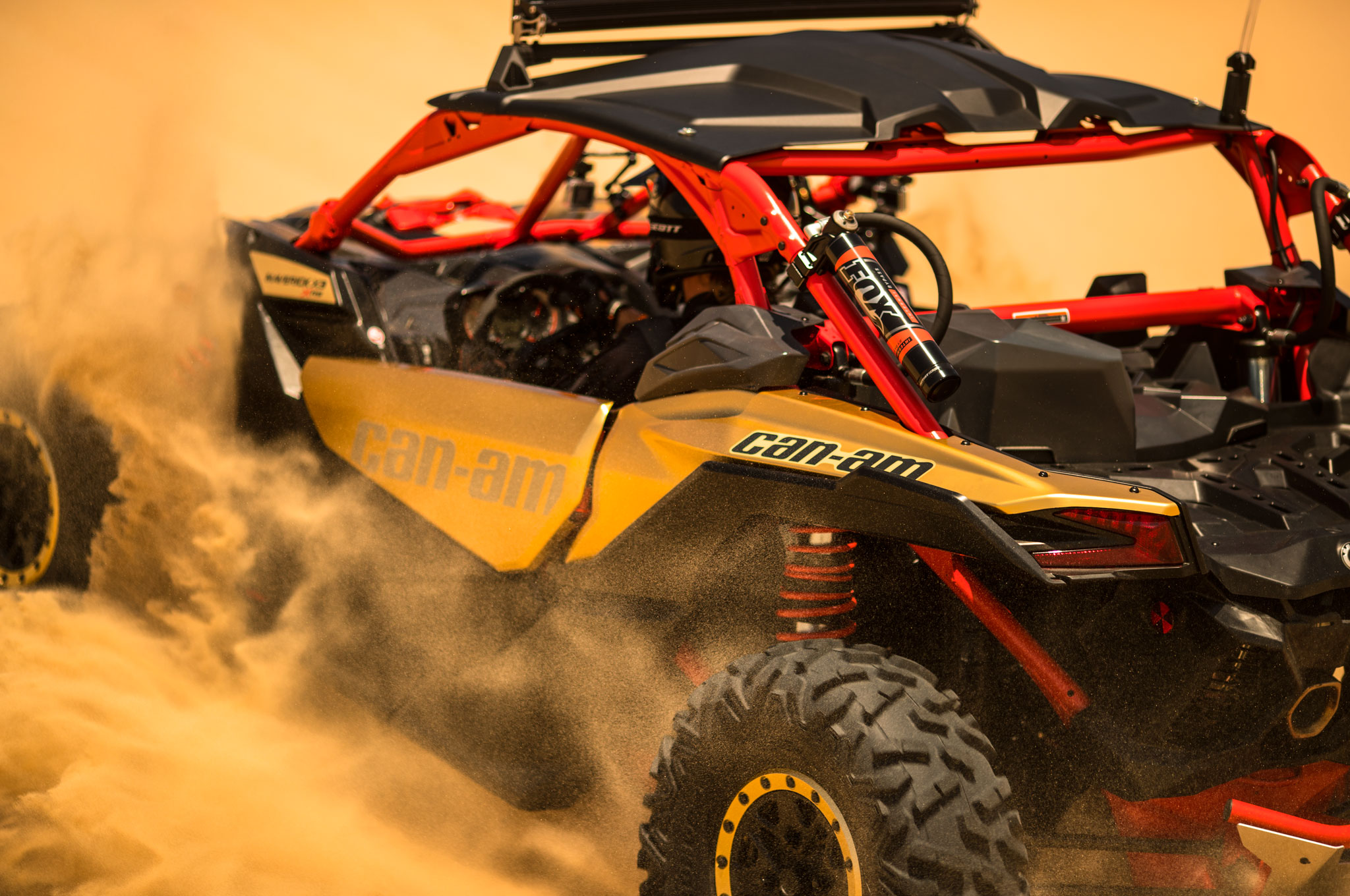 2017 can am maverick x3 turbo rs left rear sand action