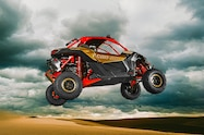 2017 can am maverick x3 turbo rs right side catching air