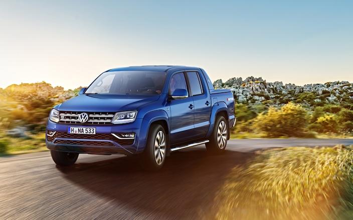 Volkswagen Developing Amarok-Based SUV to Fight Toyota Prado