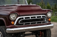 1957 chevrolet task force napco legacy classic trucks front grille
