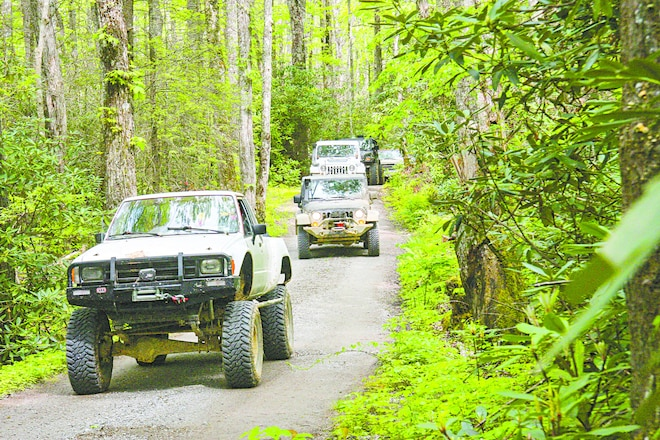Eastern Mountain 'Wheeling - Tennessee/North Carolina Expedition