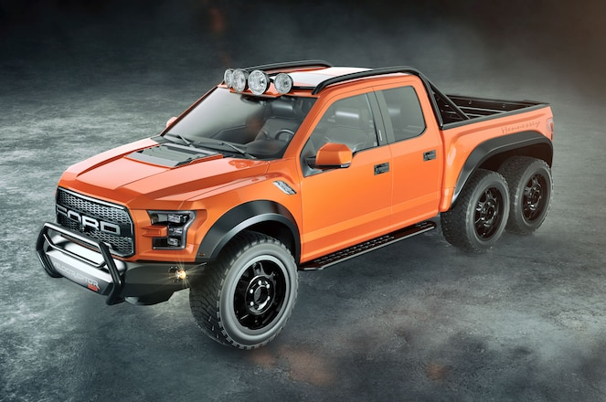 Hennessey Teases 2017 Ford F-150 Raptor 6x6