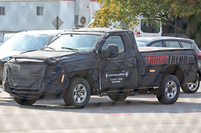 Spied – 2018 Ford F-150 Super Duty?