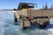 AEV Trucks Ice Road 13 ice driving