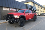 AEV Trucks Ice Road 03 Red Ram 3500