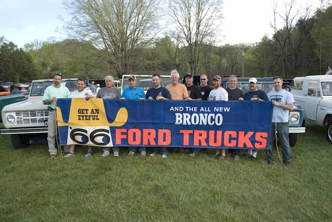 The Big Five-Oh: Fans Celebrate 50 Years Of The Ford Bronco